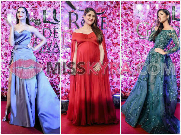 Celebs dazzle at the Lux Golden Rose red carpet