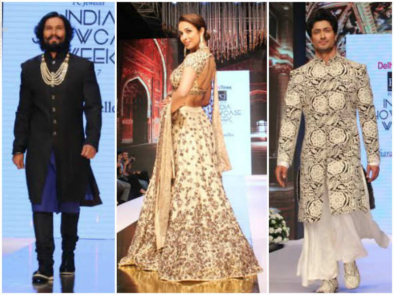 Day 1: Designers showcase their collection at Delhi Times PCJ India Showcase Week, 2017