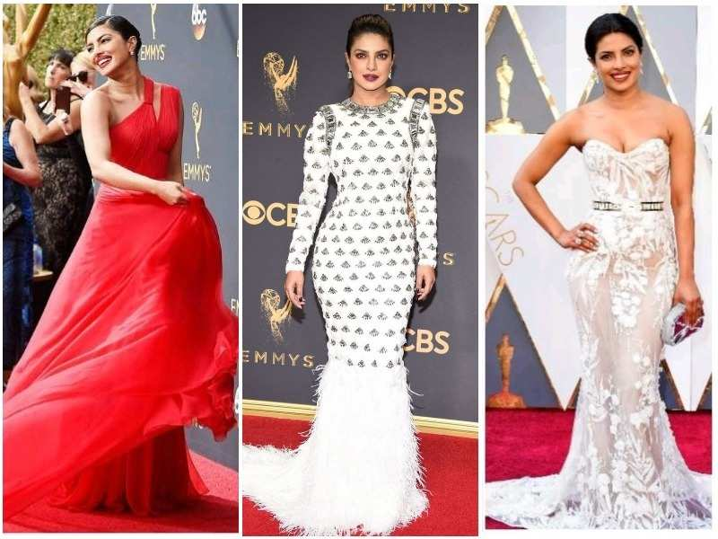 Not just the Emmys, here are 14 times Priyanka Chopra rocked the International red carpet