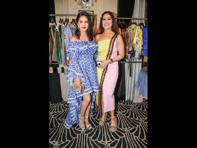 Sunny Leone attends Maheka Mirpuri's SS17 collection preview