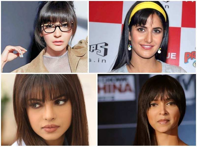 Bollywood divas who rocked the fringe look