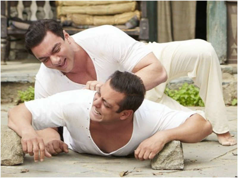 Salman Khan and Sohail Khan