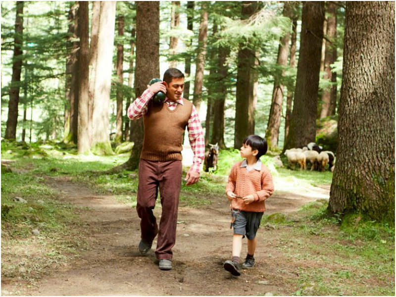 Salman Khan and Matin Rey Tangu