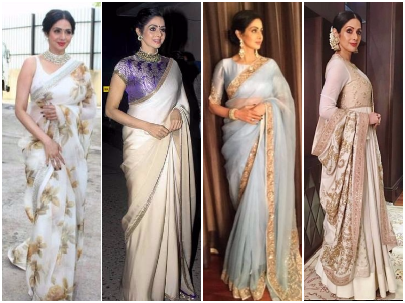 Sridevi steps out in style during 'MOM' promotions!