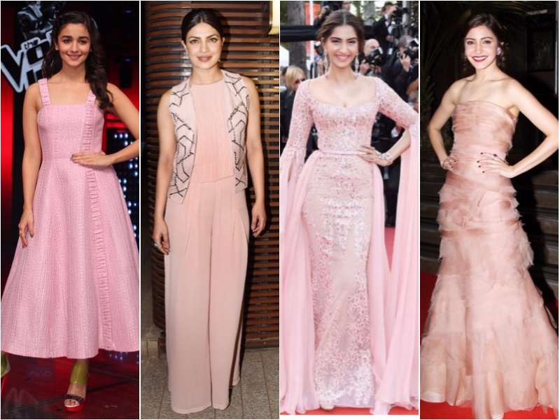 Celebs who rocked the colour of the season, Millennial Pink!