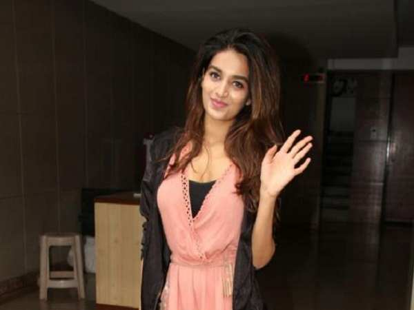 Nidhhi Agerwal spotted in the city