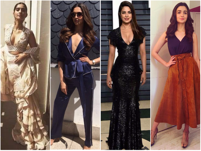 9 Bollywood divas who rocked the plunging neckline