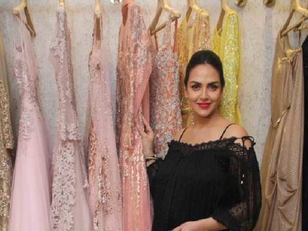 Esha Deol spotted in the city