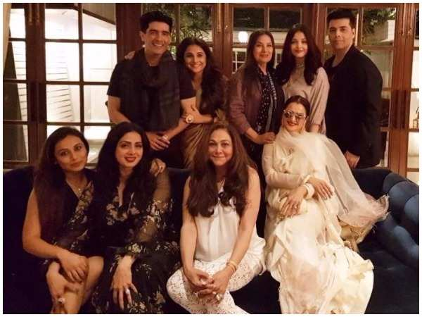 B-town celebs attend Sridevi's birthday bash