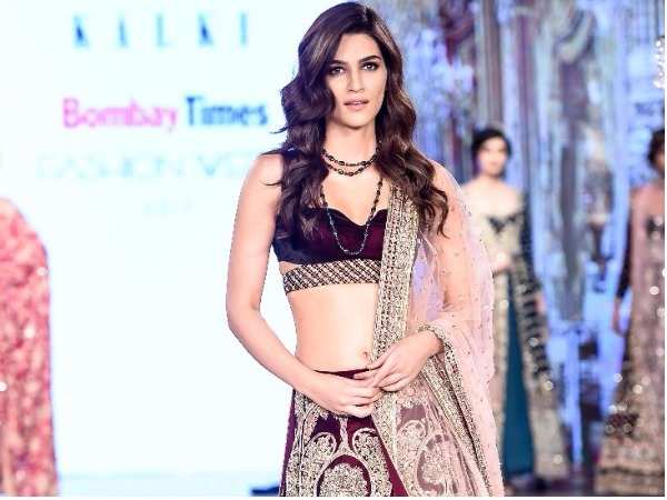 Bombay Times Fashion Week: Kriti Sanon walks the ramp for Kalki Fashion