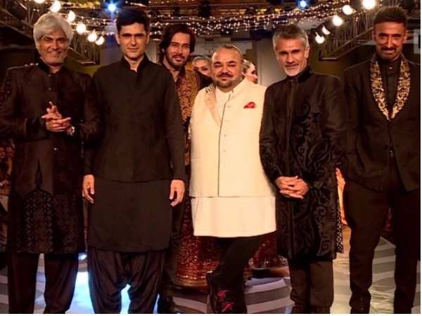 Bombay Times Fashion Week: Stars walk the ramp for JJ Valaya