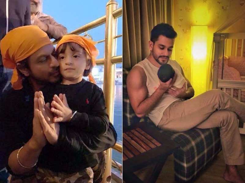 Bollywood celebrity babies who made the cutest debuts on social media