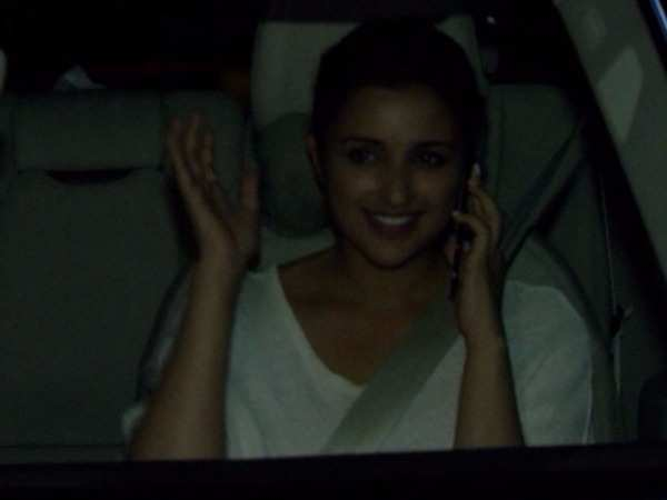 Parineeti Chopra spotted in the city