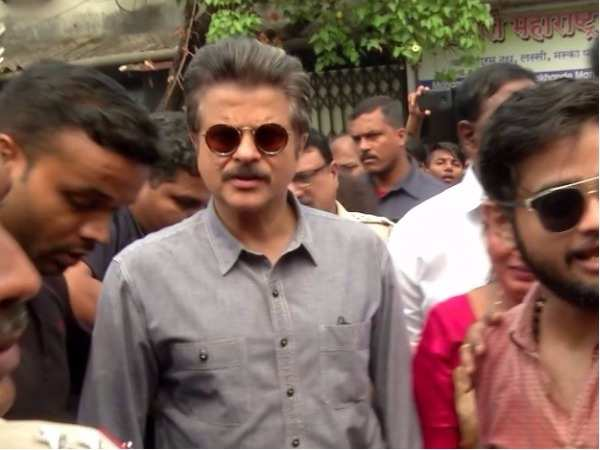 Anil Kapoor promotes Swachh Bharat Abhiyan in the city
