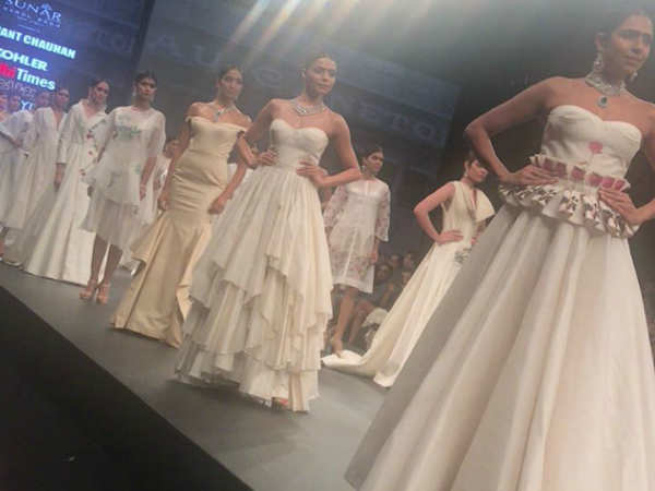 Delhi Times Lifestyle Week Day One: Samant Chauhan's fabulous collection
