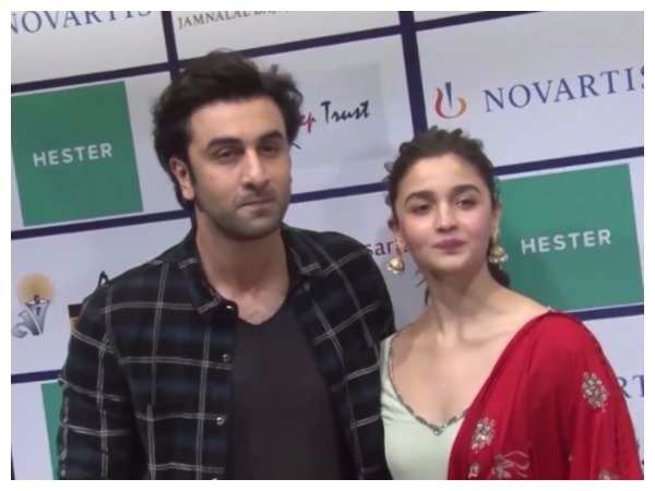 Alia Bhatt and Ranbir Kapoor spotted at an event in the city