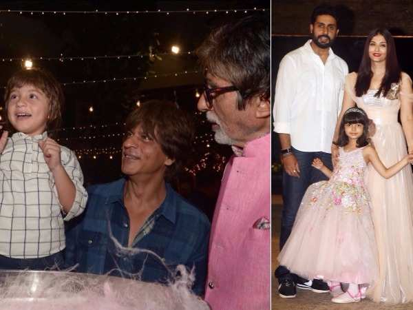 The Bachchan family hosts a grand bash for Aaradhya