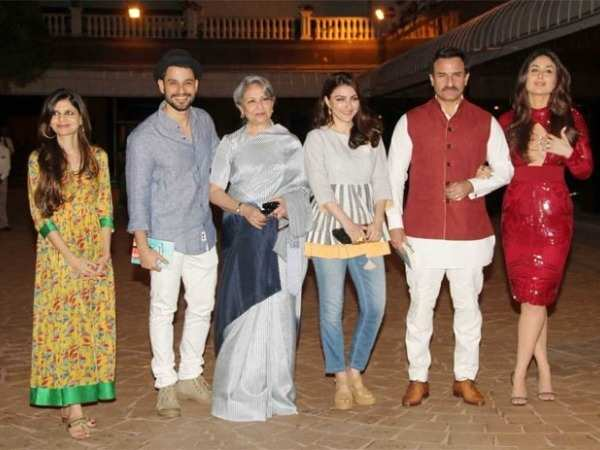 Kareena Saif Sharmila and Kunal attend Soha Ali Khan s book launch