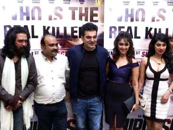 Bollywood celebs at the trailer launch of Nirdosh