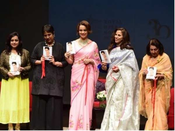 Kangana Ranaut spotted at a book launch