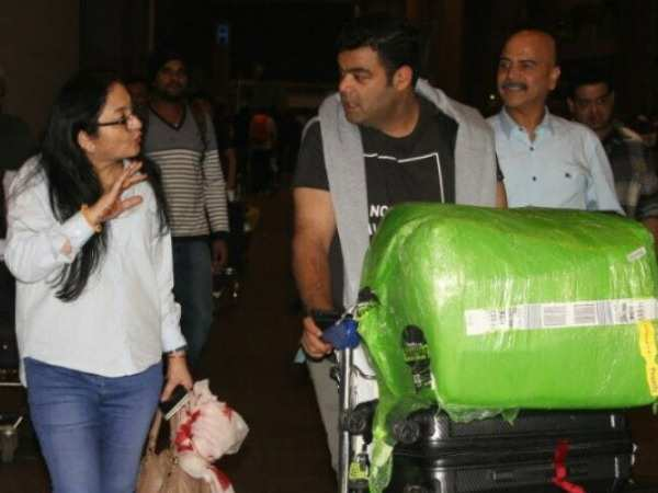 Anushka Sharma's family return from Italy