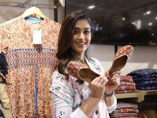 Ileana D Cruz spotted at an opening store launch