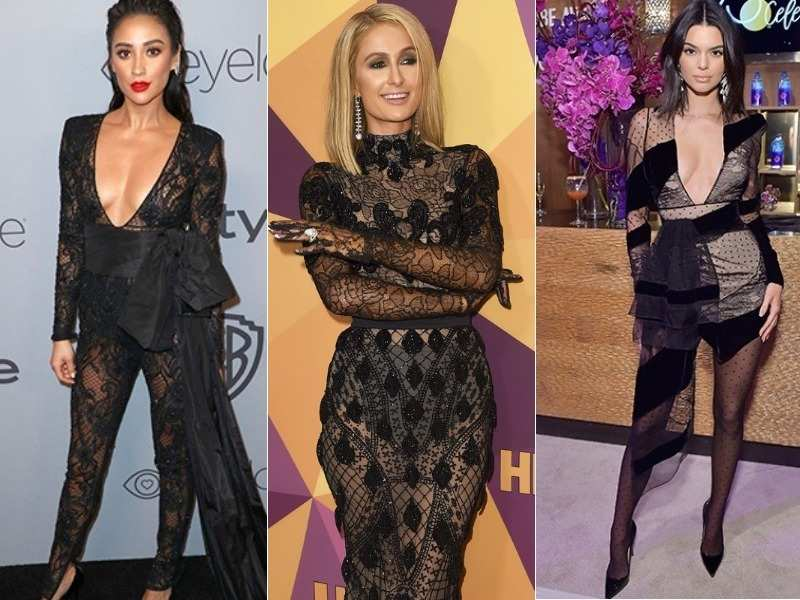 The Golden Globes after-party saw black looks yet again, only sexier!