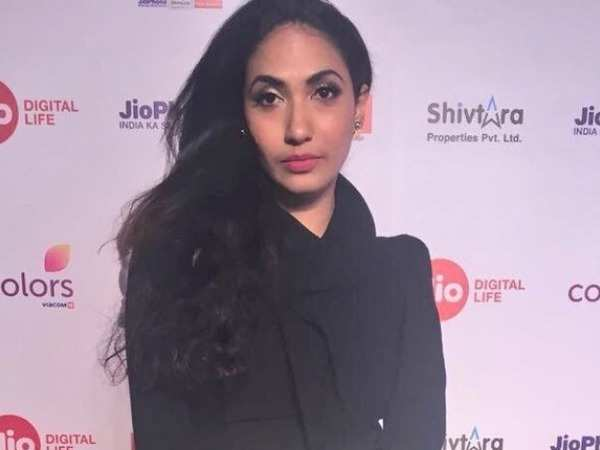 Prerna Arora attends the 63rd JioFilmfare Awards 2018