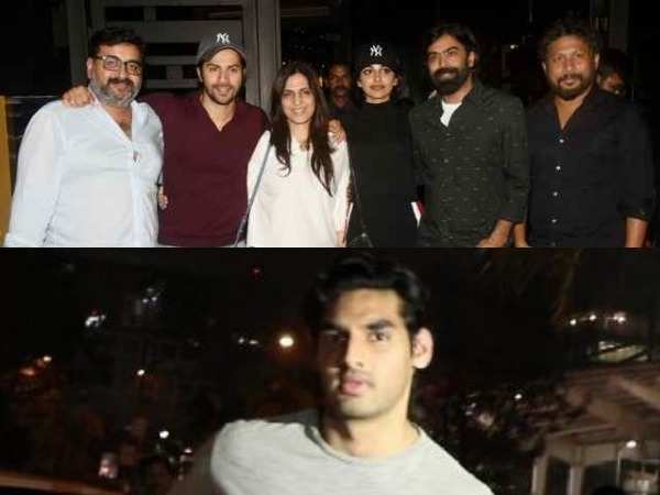 Bollywood celebs spotted in the city