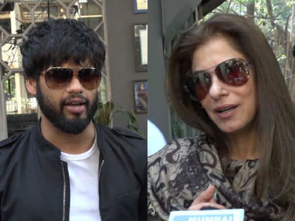 Dimple Kapadia and Karan Kapadia captured on a lunch outing