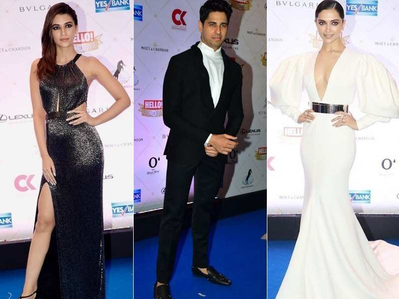 Check out all the glamour that took to the red carpet at the Hello Hall of Fame awards!