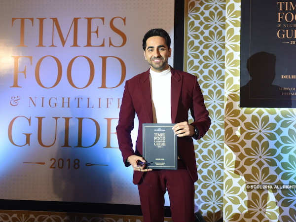 Times Food and Nightlife Awards 2018 Delhi