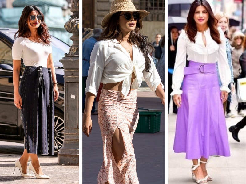 Tis the season to wear white and who better than Priyanka to take inspiration from, right?