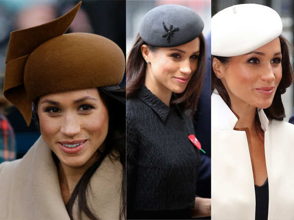 Soon-to-be royal, Meghan Markle has her hat-game all figured out!