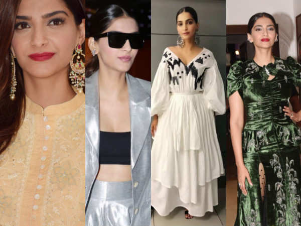 Day-time metallics to rich textures, Sonam Kapoor's VDW style-file is just amaze!