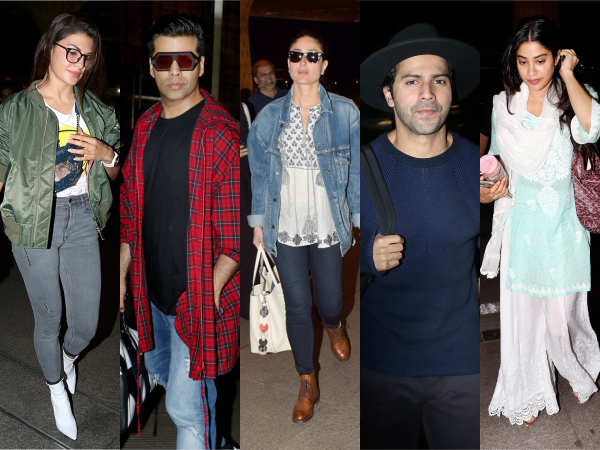 Varun Dhawan, Janhvi Kapoor, Jacqueline Fernandez and others jet-set in style this week!