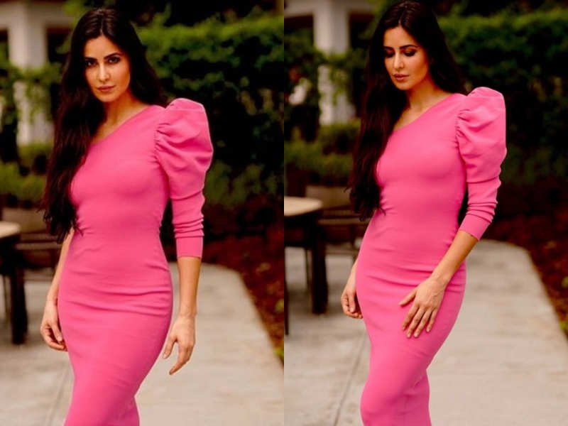 Katrina Kaif's bright pink Stella McCartney number is equal parts classy and chic