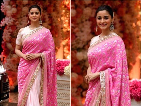 Alia Bhatt S Designer Saree Has Made It To The Top Of Our To Buy
