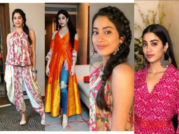 Top 5 'Dhadak' promotional looks of Janhvi Kapoor whilst touring the country in style!