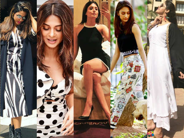 Jennifer Winget, Hina Khan, Erica Fernandes are rocking monochrome this season