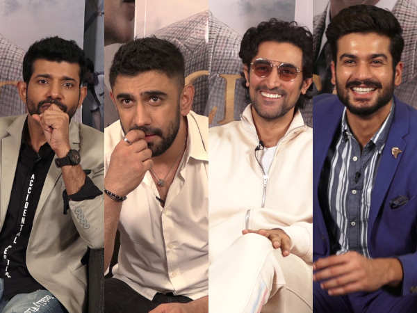 Amit Sadh, Kunal Kapoor, Sunny Kaushal and Vineet Singh take the hockey quiz