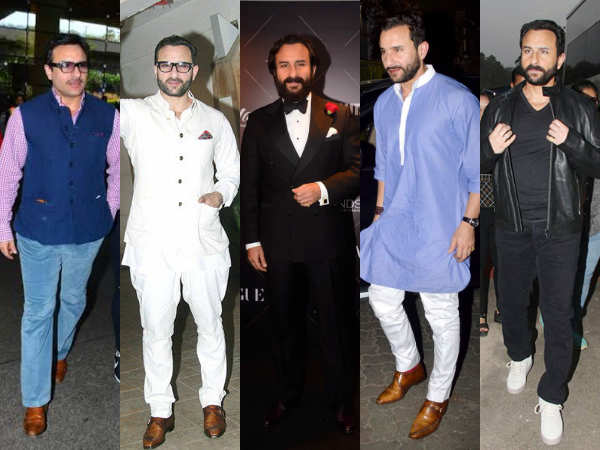 Saif Ali Khan's style sense is one for the books; here's proof!