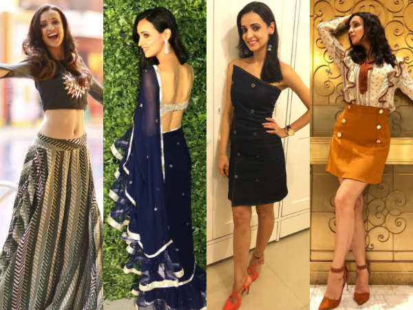 Trendy casuals to elaborate ethnics, Sanaya Irani slays it all!