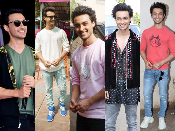 LoveYatri : 5 times Aayush Sharma slayed in his quirky jackets and sweatshirts!