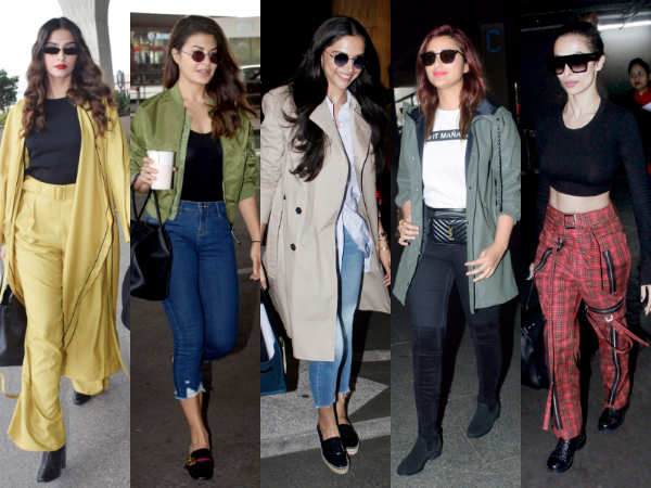 Deepika Padukone, Sonam Kapoor, Malaika Arora and others jet-set in style