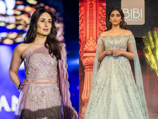 Kareena Kapoor Khan and Sonam K Ahuja slayed the ramp in style this week!