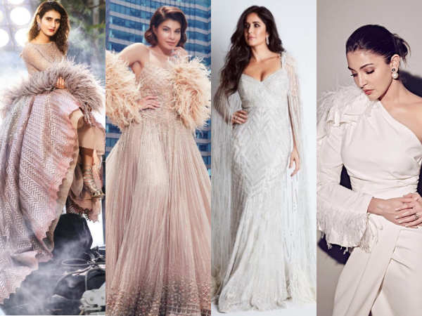 Jacqueline Fernandez, Anushka Sharma, Katrina Kaif: B-Town divas swear by the faux-feather trend!