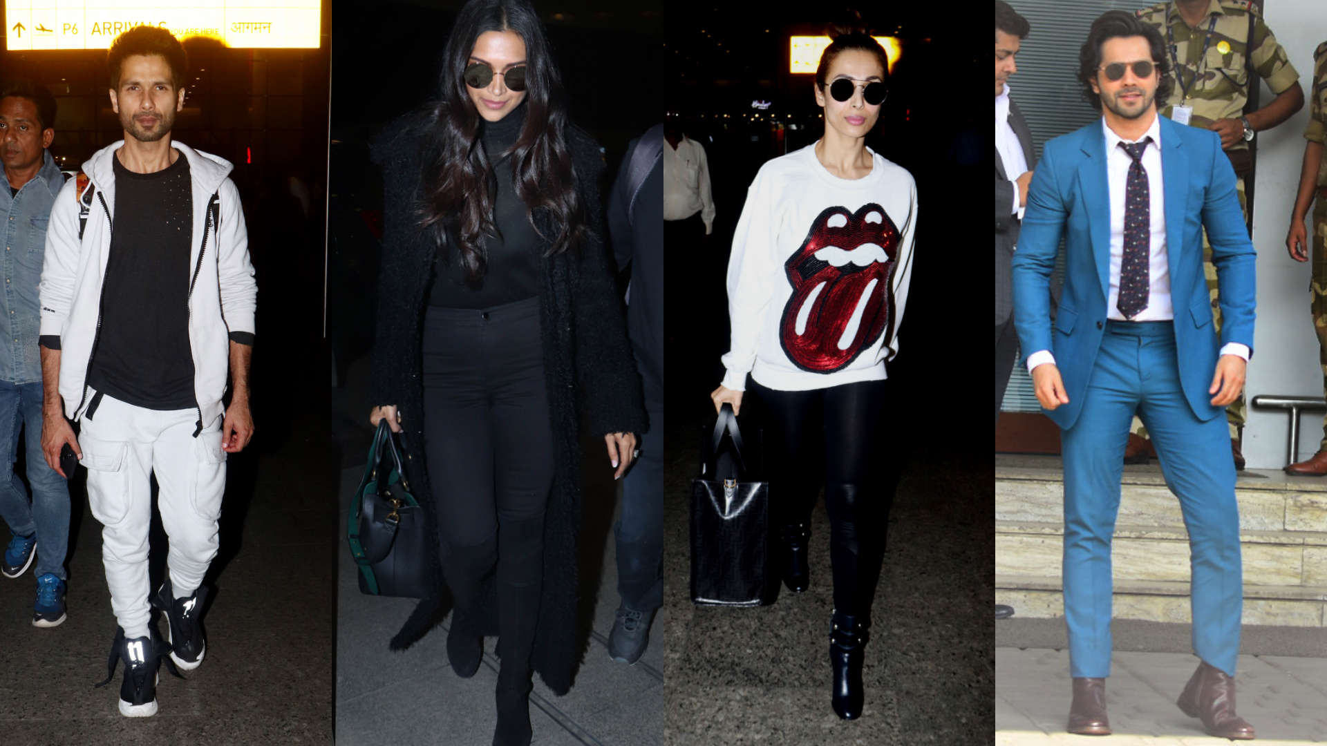 Deepika Padukone, Ranbir Kapoor, Shahid Kapoor and others jet set in style this week