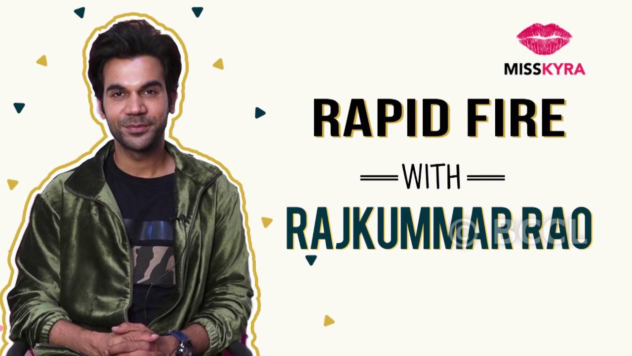 Sex or Food? Guess what Rajkummar Rao chose? |