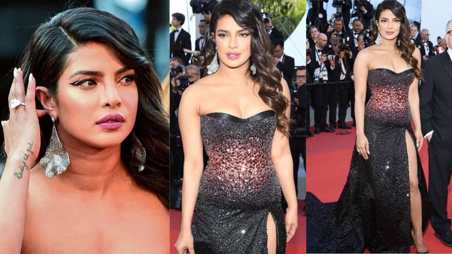 Priyanka Chopra makes a sparkling debut at Cannes red carpet